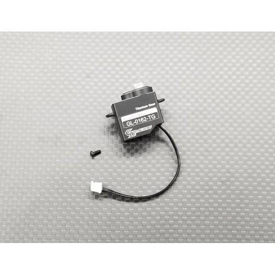 GL titanium gear servo for GLA