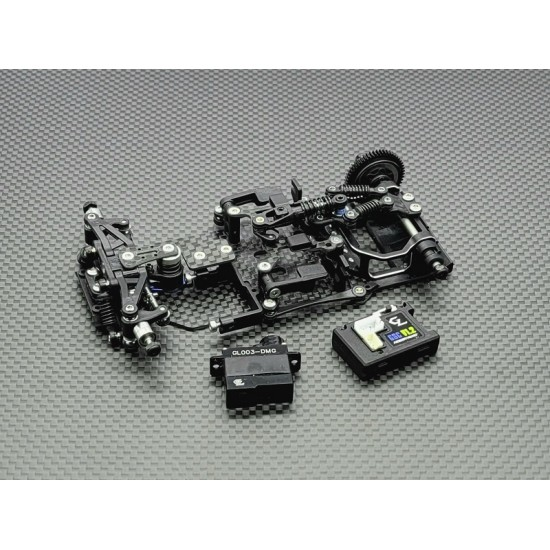 GLR-GT 1/28 RWD Chassis - W/O RX