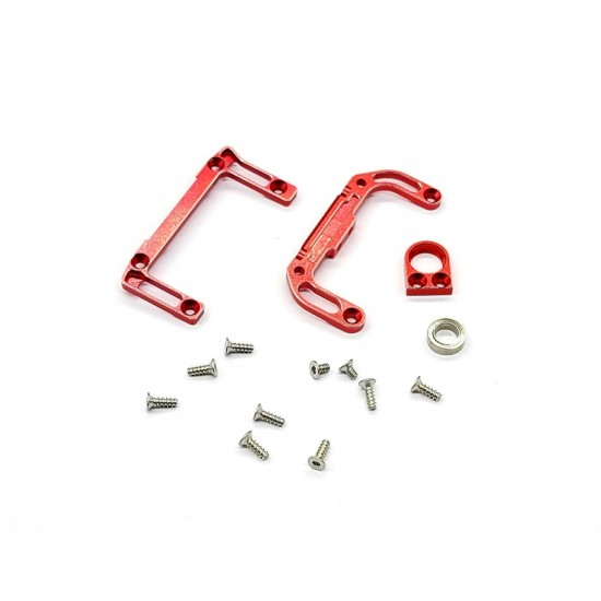 ALUMINUM 7075-T6 UPPER& LOWER REAR CHASSIS MOUNTS  (WHEELBASE L.L) FOR AWD DWS