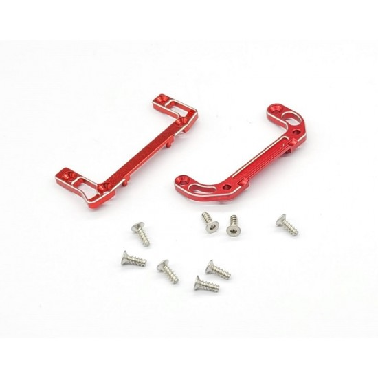 ALUMINUM 7075-T6 UPPER& LOWER REAR CHASSIS MOUNTS  (WHEELBASE M.L) FOR AWD DWS (VERSION 2)