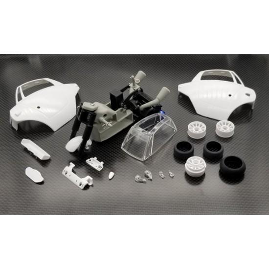 GL-RIDER 1/18 2WD CHASSIS (W/O Servo,Motor,ESC)