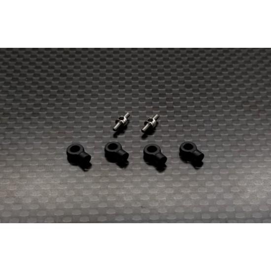 Steel Turnbuckle (1.5 x 7.6mm) 1 pair