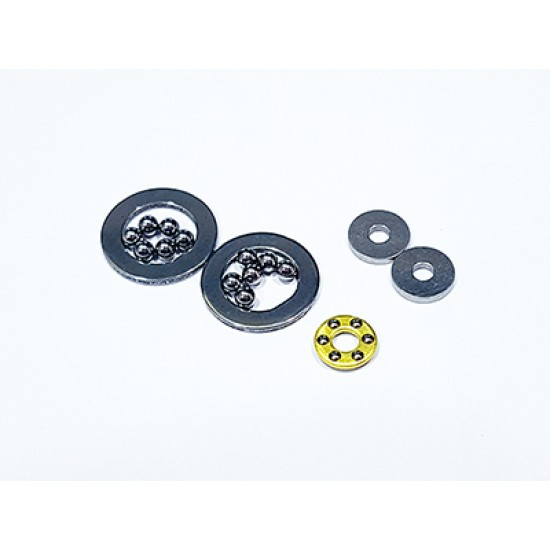 Thrust ball and diff. plate set